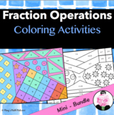 Fraction Operations - Add, Subtract, Multiply, Divide Frac