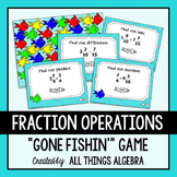 Fractions Gone Fishin' Game