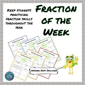 Fraction Operations ~ Growing Bundle!