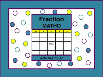 Fraction Operations MATHO
