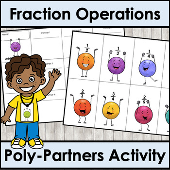 Fraction Operations Poly-Partners Activity