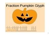 Fraction Operations Pumpkin Glyph