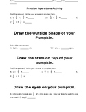 Fraction Operations Review Activity
