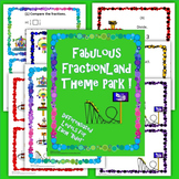 Fraction Operations Review Stations Differentiation Theme Park
