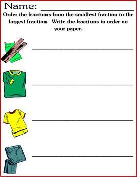 Fraction Ordering Learning Center