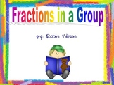 Fractions in a Group RACE GAME CARDS