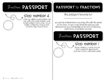 Fraction Passport