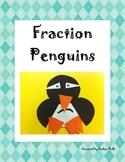 Fraction Penguin Craftivity