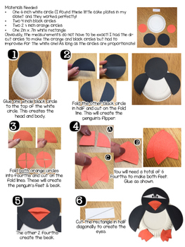 Fraction Penguin Freebie!