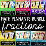 Fractions Pennants Bundle