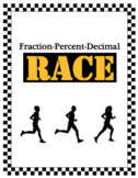 Fraction Percent Decimal Race