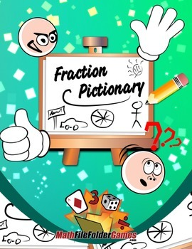 Fraction Pictionary: Recognizing Fractions with Drawing {Fraction Game}