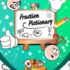 Fraction Pictionary: Recognizing Fractions with Drawing {F