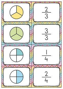 Fraction Picture Match