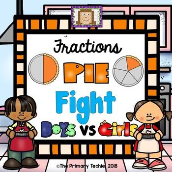 Fraction Pie Toss - Fun Fight
