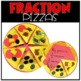 Digital and Printable Math Activity:  Fraction Pizza