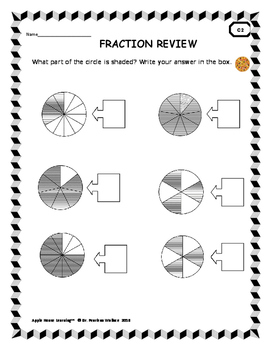 Fraction Pizza:  Compare Fractions Worksheets, Fraction Task Cards