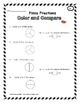 Fraction Pizza:  Compare Fractions Worksheets, Fraction Ta