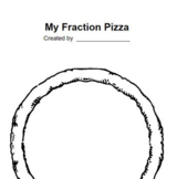 Fraction Pizza - Fun Project for Fractions