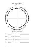 Fraction Pizza Lesson Template & Plan