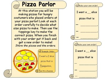 Fraction Pizza Parlor