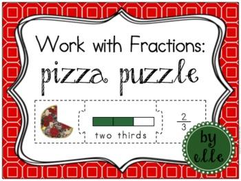Fraction Pizza Puzzle