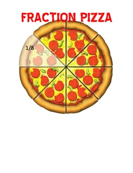Fraction Pizza Role playing Actiivty