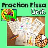 Fraction Pizza Unit (Maths Craftivity)