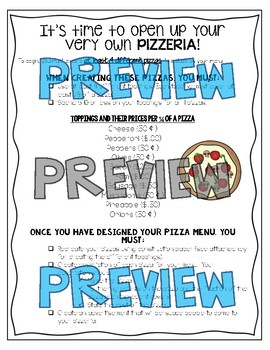 Fraction Pizzeria Project