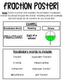 FREE: Create a Fraction Poster!