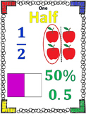 FractionPosters Percentages, Decimals and Visual Fractions