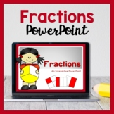 Interactive Fraction PowerPoint (Halves, Quarters & More!)
