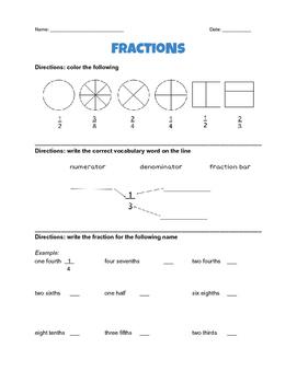 Fraction Practice