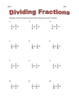 Fraction Practice- All Operations w/ Answer Keys!
