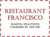 Build a Fraction Pizza -- Editable