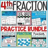 Fraction Practice MEGA BUNDLE 4th Grade