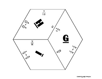 Fraction Practice Packet - Puzzle Packet - PP