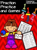 Fraction Practice and Games