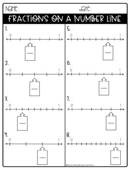 Fraction Printables - {PARTS 1 & 2 ONLY}