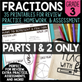 Fraction Printables - PARTS 1 & 2 ONLY