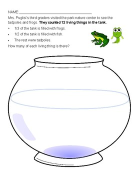 Fraction Problem Aquarium