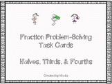 Fraction Problem-Solving Task Cards