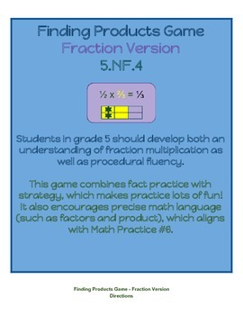 Fraction Product Game