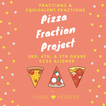 Fraction Project - Create your own Pizza