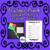 Fraction Project Bundle: Equivalent Kite and Fractions of