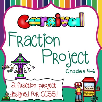 Fraction Activities - Word Problems - Operations