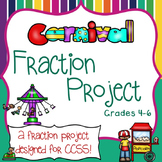 Fractions Equivalent, Comparing, Multiply, Add, Subtract Themed Project