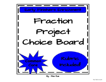 Fractions Math Project
