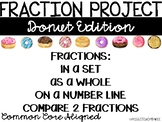 Fraction Project - Donut Edition