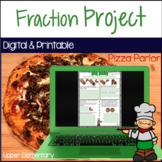 Fraction Activities Google Classroom | Distance Learning
